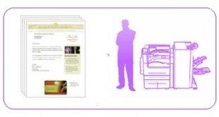 Бумага для полиграфии и  центров печати