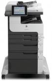 Чб МФУ HP LaserJet Enterprise 700 MFP M725f