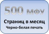 МФУ в офис 500 моно